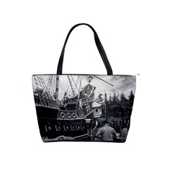 Vintage Usa California Disneyland Sailing Boat 1970 Large Shoulder Bag