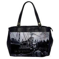 Vintage Usa California Disneyland Sailing Boat 1970 Single Sided Oversized Handbag