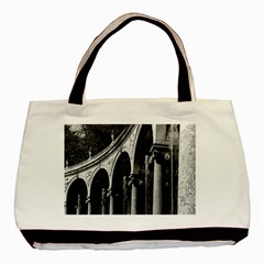 Vintage France Palace Of Versailles Colonnade Grove Black Tote Bag by Vintagephotos