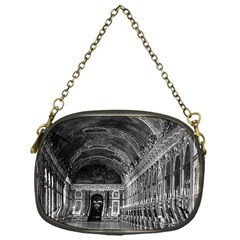Vintage France Palace Of Versailles Mirrors Galery 1970 Single Sided Evening Purse