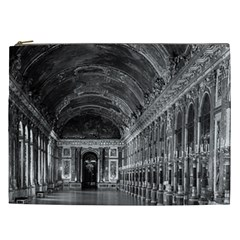 Vintage France Palace Of Versailles Mirrors Galery 1970 Cosmetic Bag (xxl) by Vintagephotos