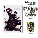 code geass - Playing Cards 54 Designs