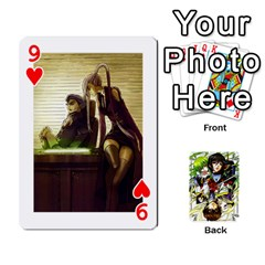 Code Geass By David    Playing Cards 54 Designs   6xpb4uvp058l   Www Artscow Com Front - Heart9