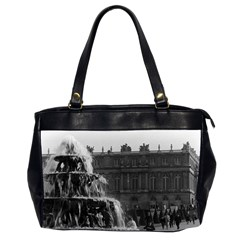 Vintage France Palace Of Versailles Pyramid Fountain Twin Sided Oversized Handbag by Vintagephotos