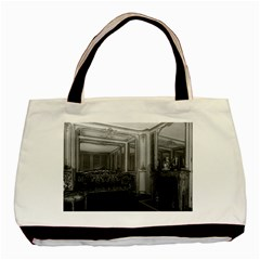 Vintage France Palace Versailles Mme Du Barry s Room Twin Sided Black Tote Bag