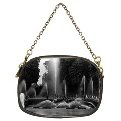 Vintage France Palace Of Versailles Neptune Fountains Twin Sided Evening Purse by Vintagephotos