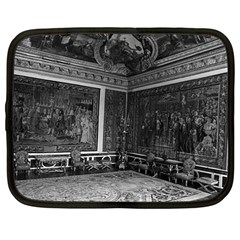 Vintage France Palace Of Versailles Apollo Chambre 1970 12  Netbook Case by Vintagephotos
