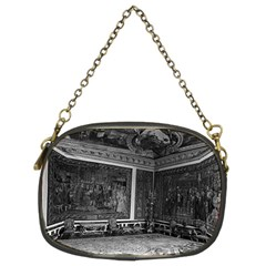 Vintage France Palace Of Versailles Apollo Chambre 1970 Twin Sided Evening Purse