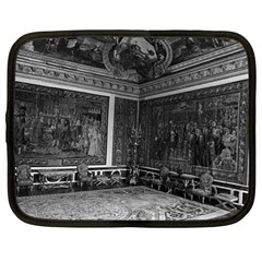 Vintage France Palace Of Versailles Apollo Chambre 1970 13  Netbook Case by Vintagephotos