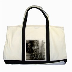 Vintage France Palace Of Versailles Astronomical Clock Two Toned Tote Bag