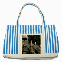 Vintage France Palace Of Versailles The Salle De Bal Blue Striped Tote Bag by Vintagephotos