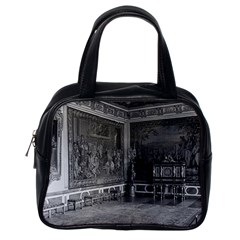 Vintage France Palace Of Versailles Stade Dining Room Single Sided Satchel Handbag by Vintagephotos