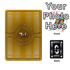 Pazaak Dealer By C Horton   Playing Cards 54 Designs   2yri1clsj6sc   Www Artscow Com Front - Club9