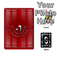 Ace Pazaak Dealer By C Horton   Playing Cards 54 Designs   2yri1clsj6sc   Www Artscow Com Front - ClubA