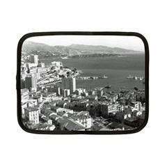 Vintage Principality Of Monaco  The Port Of Monte Carlo 7  Netbook Case by Vintagephotos