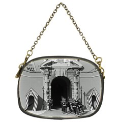 Vintage Principality Of Monaco Palace Gate And Guard Single Sided Evening Purse by Vintagephotos