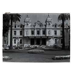 Vintage Principality Of Monaco Monte Carlo Casino Cosmetic Bag (xxl) by Vintagephotos