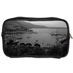 Vintage Principality Of Monaco The Port Of Monaco 1970 Twin Sided Personal Care Bag by Vintagephotos