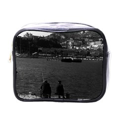 Vintage Principality Of Monaco The Port Of Monaco 1970 Single Sided Cosmetic Case by Vintagephotos