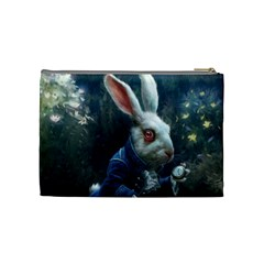 Rabbit By Mlu   Cosmetic Bag (medium)   2vy8boirxint   Www Artscow Com Back