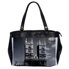 Vintage Uk England London Westminster Abbey 1970 Single Sided Oversized Handbag by Vintagephotos