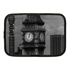 Vintage Uk England London The Post Office Tower Big Ben 10  Netbook Case by Vintagephotos