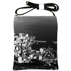 Vintage Principality Of Monaco & Overview 1970 Cross Shoulder Sling Bag by Vintagephotos