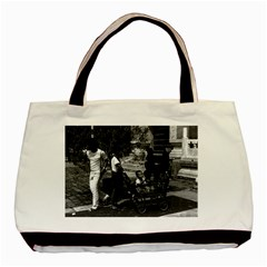 Vintage China Pekin Visitors Temple Of Heaven 1970 Black Tote Bag by Vintagephotos