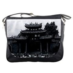 Vintage China Canton Taoist Ancestral Temple 1970 Messenger Bag by Vintagephotos