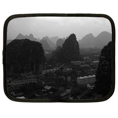 Vintage China Guilin City 1970 15  Netbook Case by Vintagephotos