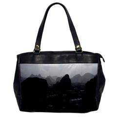 Vintage China Guilin City 1970 Single Sided Oversized Handbag
