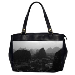 Vintage China Guilin City 1970 Twin Sided Oversized Handbag by Vintagephotos