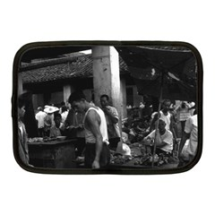 Vintage China Changsha Market 1970 10  Netbook Case by Vintagephotos