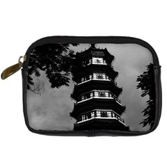 Vintage China Canton The Flowery Pagoda 1970 Compact Camera Case by Vintagephotos