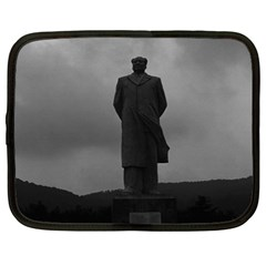 Vintage China Changsha Mao Tse Tung Statue 1970 15  Netbook Case by Vintagephotos