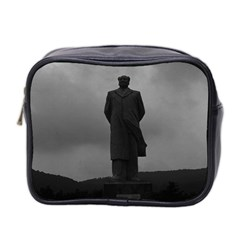 Vintage China Changsha Mao Tse Tung Statue 1970 Twin Sided Cosmetic Case by Vintagephotos