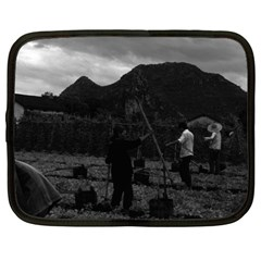Vintage China Guilin Watering With Liquid Manure 1970 12  Netbook Case by Vintagephotos