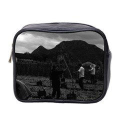 Vintage China Guilin Watering With Liquid Manure 1970 Twin Sided Cosmetic Case by Vintagephotos