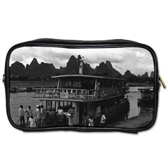 Vintage China Guilin River Boat 1970 Twin Sided Personal Care Bag by Vintagephotos