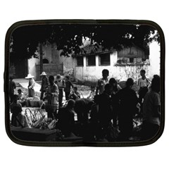 Vintage China Yangshuo Market 1970 15  Netbook Case by Vintagephotos