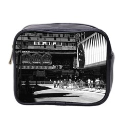 Vintage China Hong Kong Street City 1970 Twin Sided Cosmetic Case by Vintagephotos