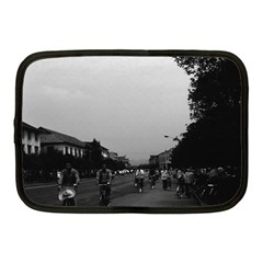 Vintage China Guilin Street Bicycles 1970 10  Netbook Case by Vintagephotos