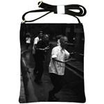Vintage China Shanghai morning gymnastic 1970 Cross Shoulder Sling Bag Front