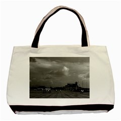 Vintage China Pekin Tiananmen Square 1970 Black Tote Bag