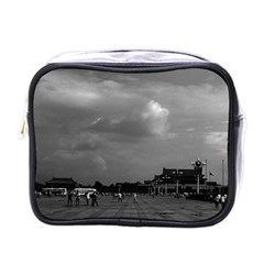 Vintage China Pekin Tiananmen Square 1970 Single Sided Cosmetic Case by Vintagephotos
