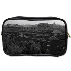 Vintage China Shanghai City 1970 Twin Sided Personal Care Bag by Vintagephotos