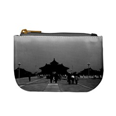 Vintage China Pekin Forbidden City Gate 1970 Coin Change Purse by Vintagephotos