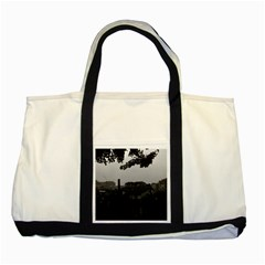 Vintage China Shanghai City 1970 Two Toned Tote Bag by Vintagephotos