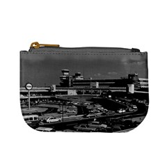 Vintage Germany Berlin The Tegel Airport 1970 Coin Change Purse by Vintagephotos