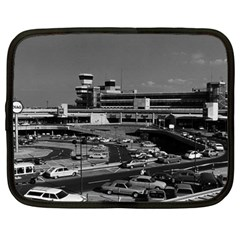 Vintage Germany Berlin The Tegel Airport 1970 13  Netbook Case by Vintagephotos